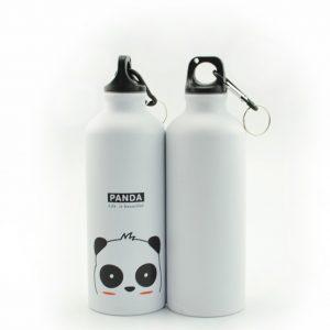 aluminium waterfles panda