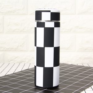 checkered waterfles
